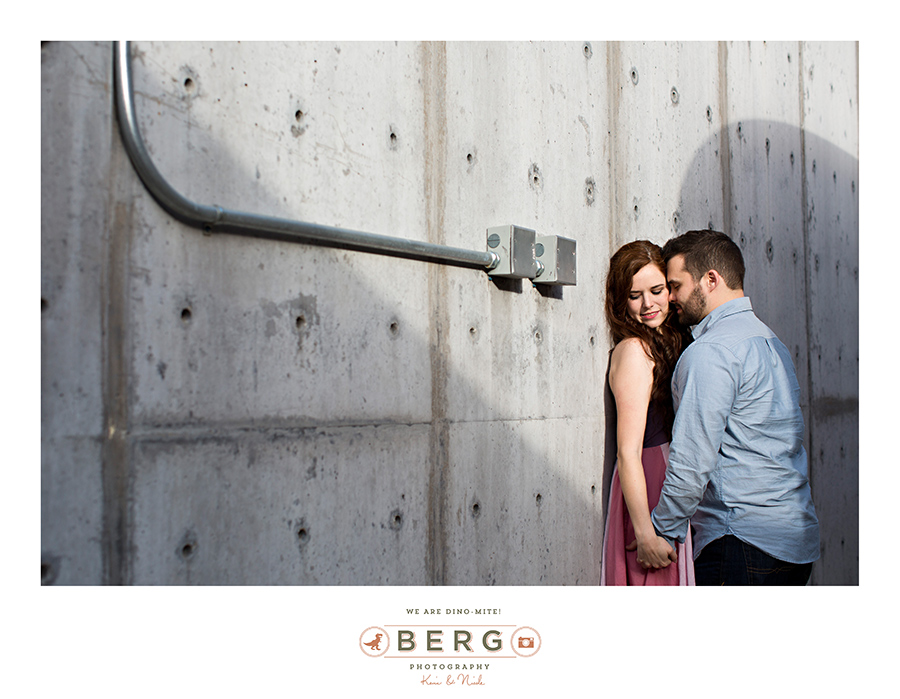 Angelique trey dallas texas engagement session berg - Fort worth water gardens wedding ...